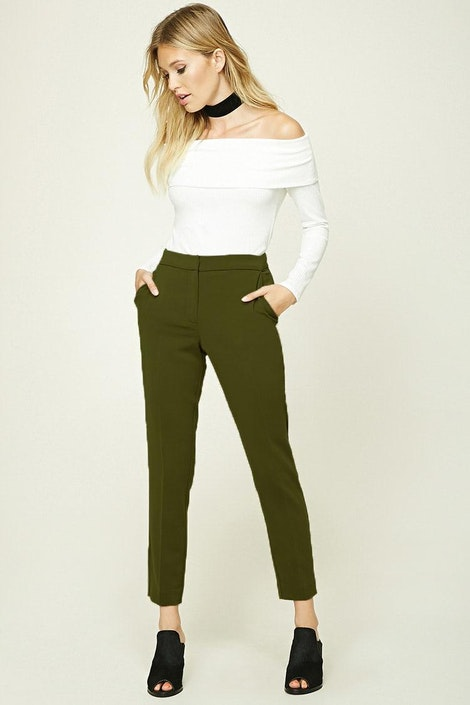 0b455aed185af Contemporary Woven Trousers