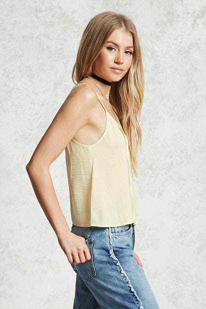 a1a9a7dae52 forever21 WOVEN TOP, Satin Cami Top for Women at Forever21.in