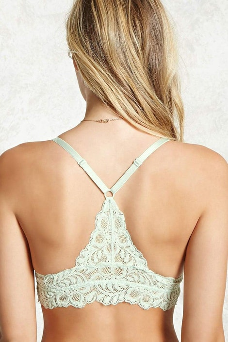 6132500856c Sheer Lace Bralette