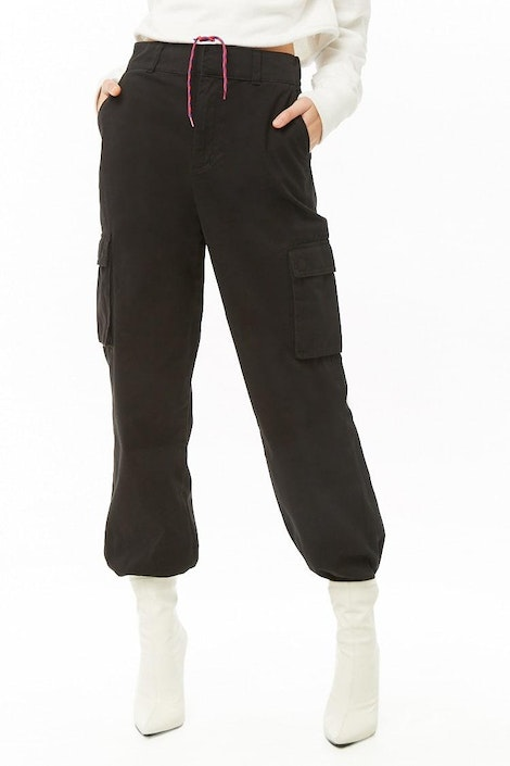 b54986fadc93 forever21 PANT, High-Waist Cargo Pants for Women at Forever21.in