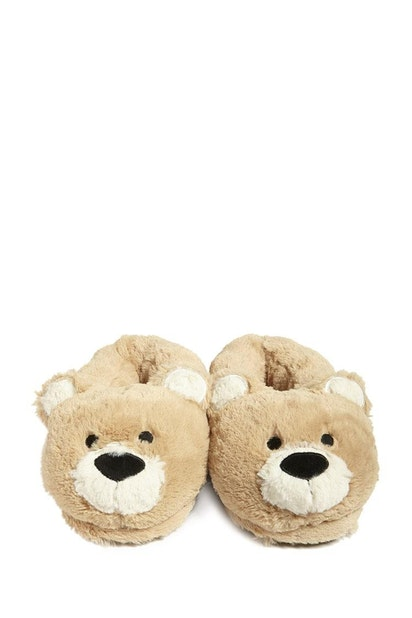 d861903a52d92 forever21 SHOES, Faux Fur Bear Slippers for Women at Forever21.in