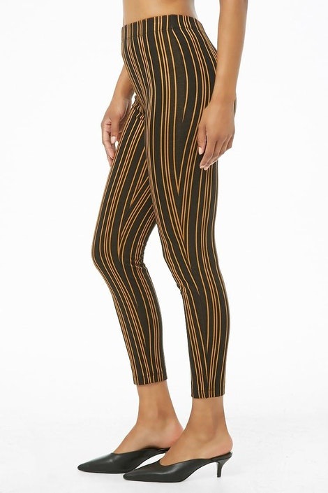 d179eb515c forever21 PANT, Striped High-Rise Pants for Women at Forever21.in