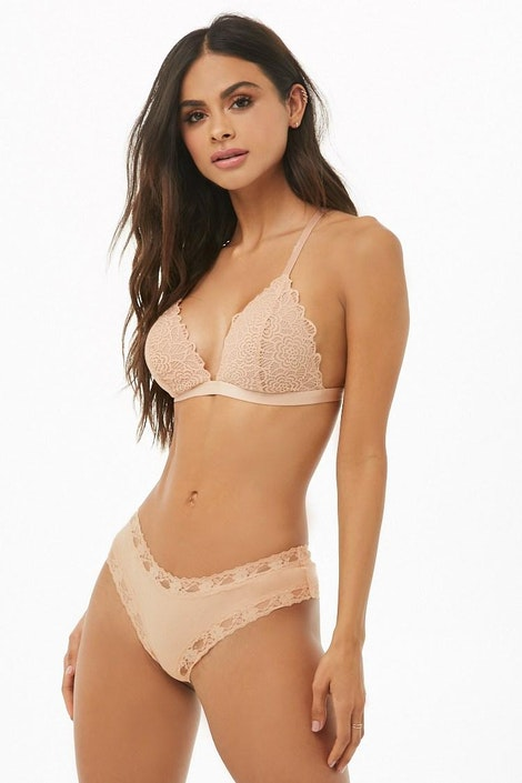 8b71fc8e5ca9 forever21 LINGERIE, Lace Cheeky Panty for Women at Forever21.in