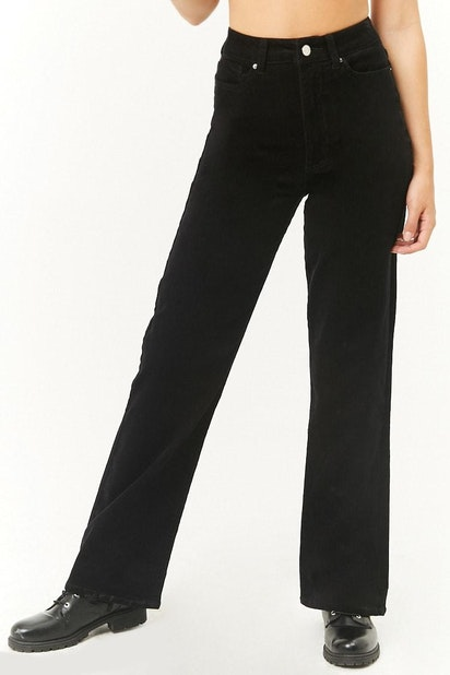 select for authentic fast color outlet store sale forever21 PANT, High-Waist Corduroy Pants for Women at ...