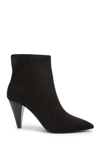 d9d346f9a27 forever21 SHOES, Faux Suede Cone-Heel Booties for Women at Forever21.in