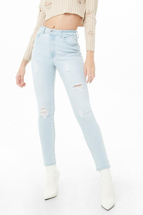 91a74077cd86e forever21 DENIM PANT, High-Rise Skinny Jeans for Women at Forever21.in