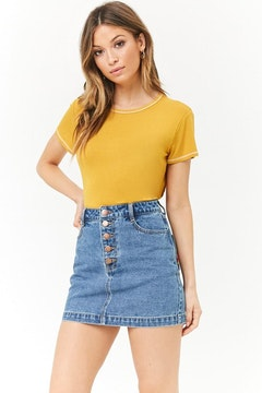 0809aa10bca59e Skirts for Women - Denim, Mini, Maxi Skirts Online | Forever 21