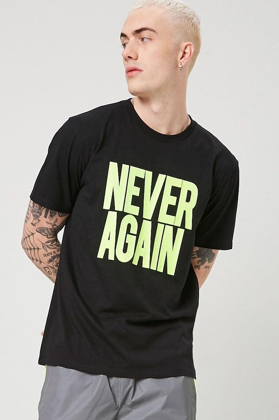 Never Again Graphic Tee
